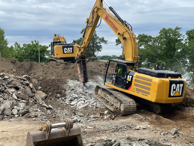 Construction Underway at Cross County Shopping Center