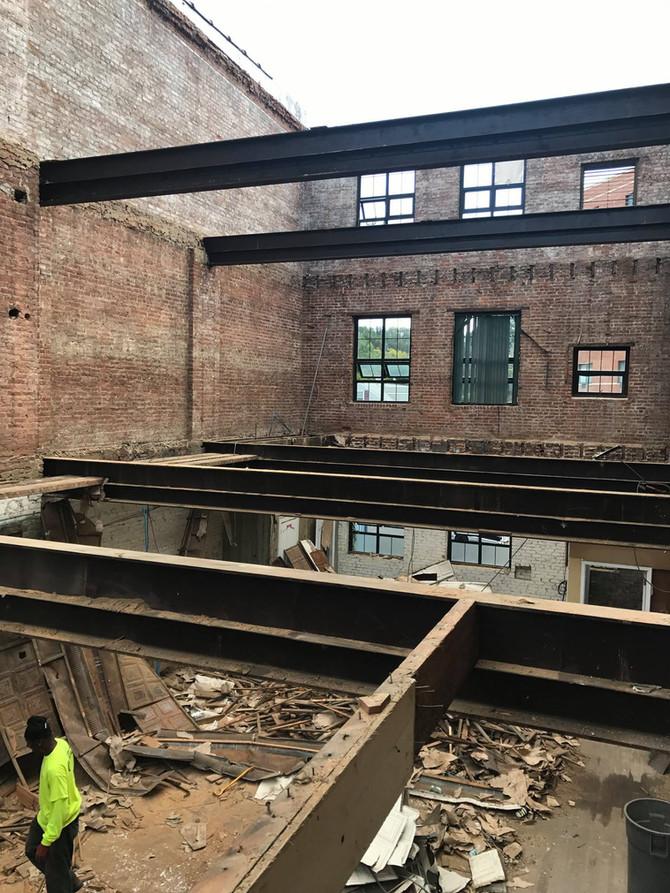 151 Mamaroneck Demolition Underway
