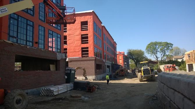 Sheldrake Lofts Construction Progressing