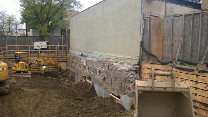 Construction Underway in Larchmont