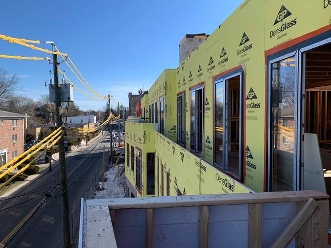Construction Progress at 33 Calvert