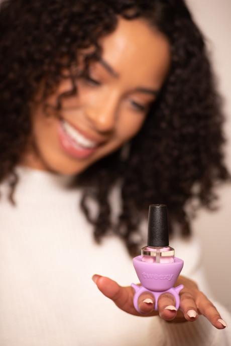 stock product photography, nail polish