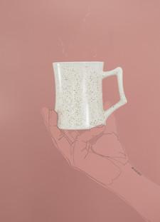 coffee mug commerical photo