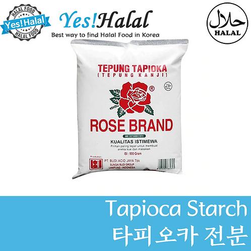 Tapioca Starch/타피오카 전분 (Indonesia, Rose, 500g)