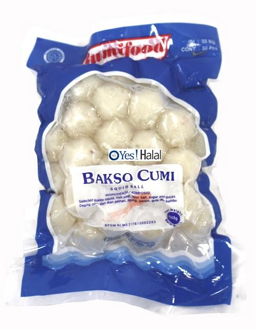Squid Meat Ball (Bakso Cumi)