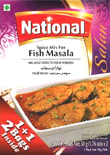 National Spice Mix for Fish Masala