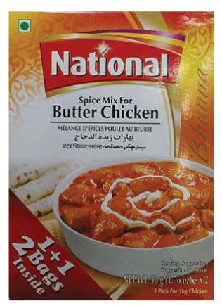 National Spice Mix Butter Chicken