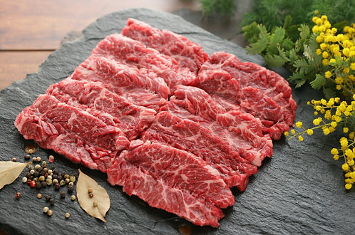 Halal Beef Thick Skirt (Sliced, 500g - 2,200won/100g)