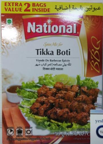 National Spice Mix Tikka Boti