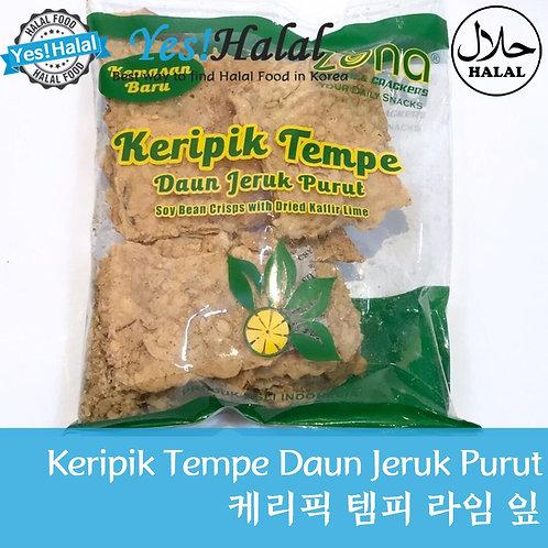 Keripik Tempe Daun Jeruk Purut (Indonesia, 230g)