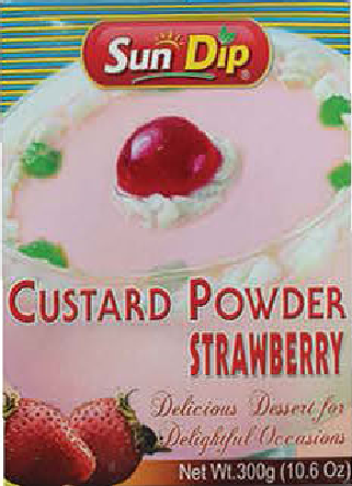 Custard Powder Strawberry (Pakistan, Sundip, 300g)