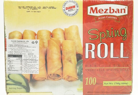 Mezban Spring Roll (Desi Style Spring Roll)