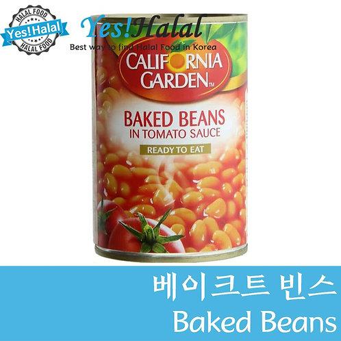 Baked Beans in Tomato Sauce (UAE, California Gardens, 400g)