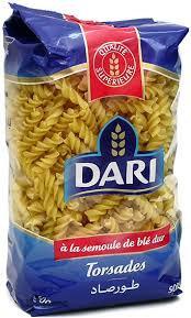 Pasta Torsades/Torsade Pasta (Morocco, Dari, 500g)