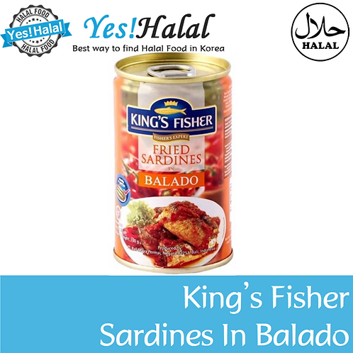King's Fisher Sardines in Balado