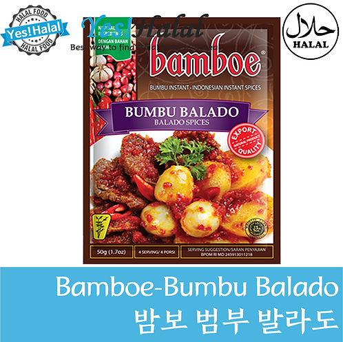 Bamboe Bumbu Balado (Indonesia, 50g)