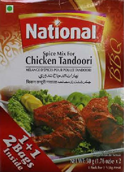 National Spice Mix Chicken Tandoori