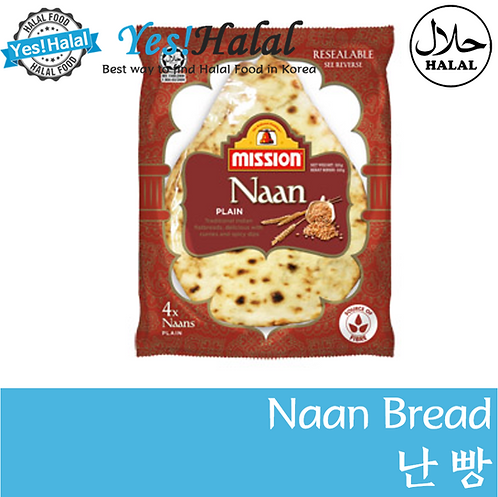 Plain Naan (Malaysia, Mission, 320g)