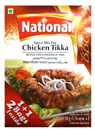 National Spice Mix Chicken Tikka