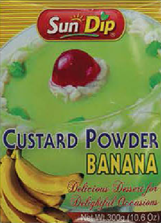 Custard Powder (Banana)