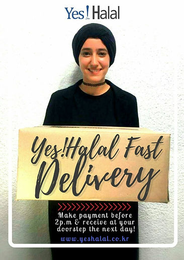 Yes!Halal's Fast Delivery