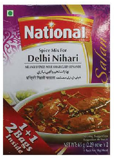 National Spice Mix Delhi Nihari