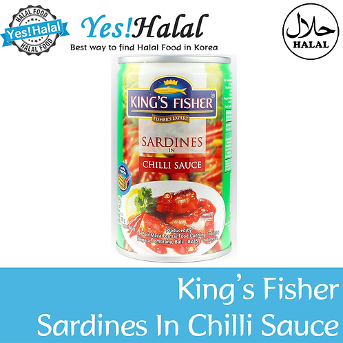 King's Fisher Sardines in Chili Sauce (Indonesia, 155g)
