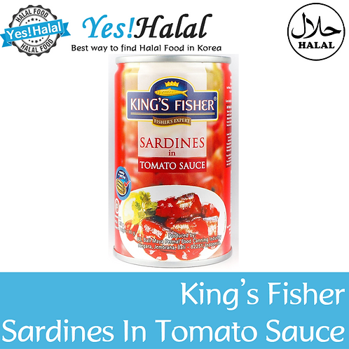 King's Fisher Sardines in Tomato Sauce (Indonesia, 155g)