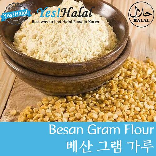 Gram Flour/Chickpea Flour/Besan (India, Rajdhani, 1Kg)