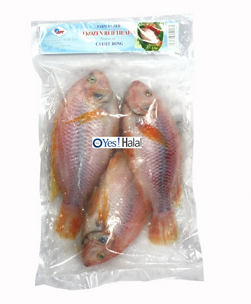 Red Tilapia (3 Fishes, 900g)