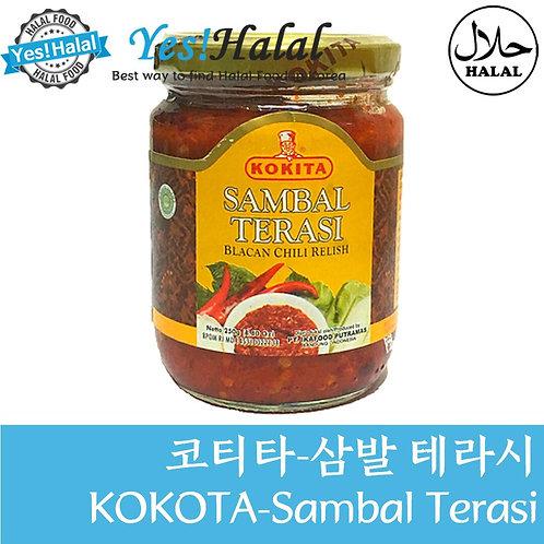 Sambal Terasi 삼발 테라시 삼발 뜨라시 (Indonesia, Kokita, 250g)