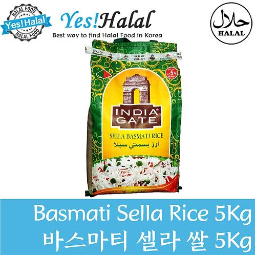 Basmati Sella Rice India Gate (India, 5Kg)