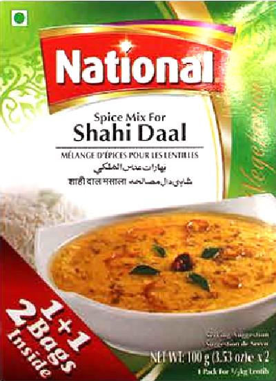 National Spice Mix Shahi Daal