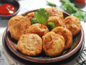 Halal Beef Potato Patty - Perkedel Kentang Daing (500g/Pack)