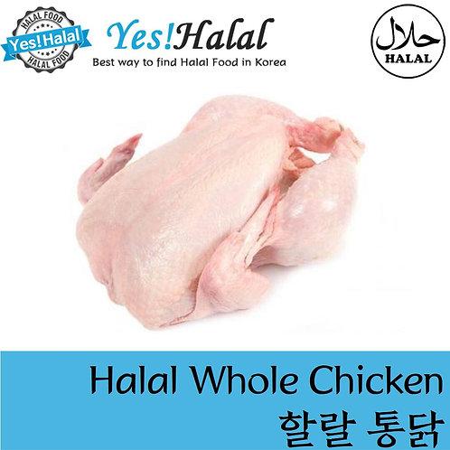 Halal Whole Chicken (National, 1Kg±50g)