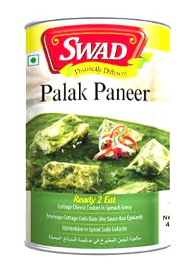 Palak Paneer (India, Swad, 450g)