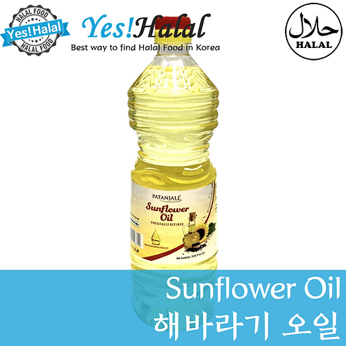 Sunflower Oil (India, Patanjali, 1L)