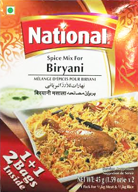 National Spice Mix Biryani