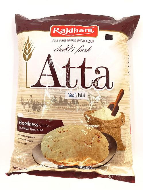 Atta Whole Wheat Flour(Rajdhani) - 5kg