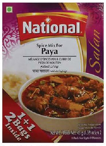 National Spice Mix Paya