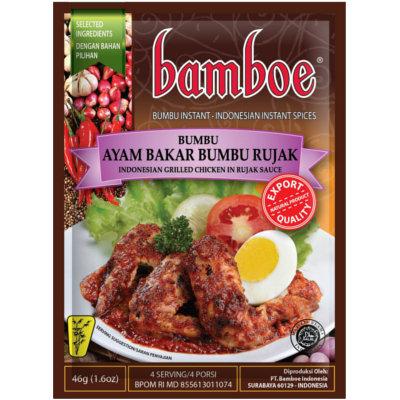 Bamboe- Ayam Bakar Bumbu Rujak