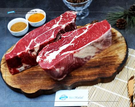 Halal Beef Chuck Eye Roll Lump Cut (Australia, 1Kg-1,690won/100g))