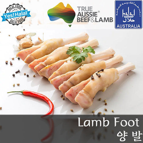 Halal Lamb Foot/Paya (1.5Kg - 933won/100g)