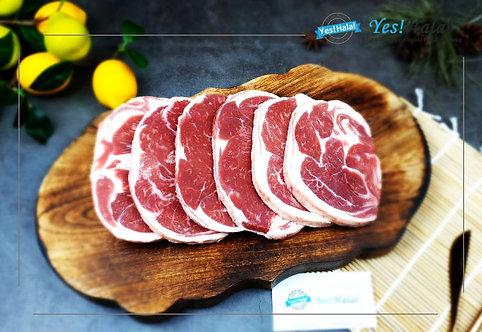 Halal Lamb Shoulder Meat (Sliced, 800g - 2,000won/100g)