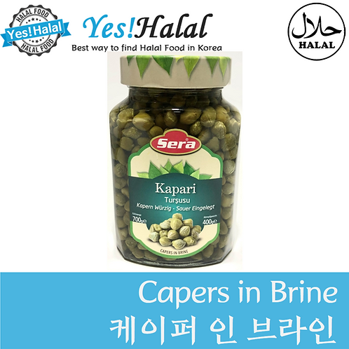 Capers in Brine (Turkey, Sera, 700g)