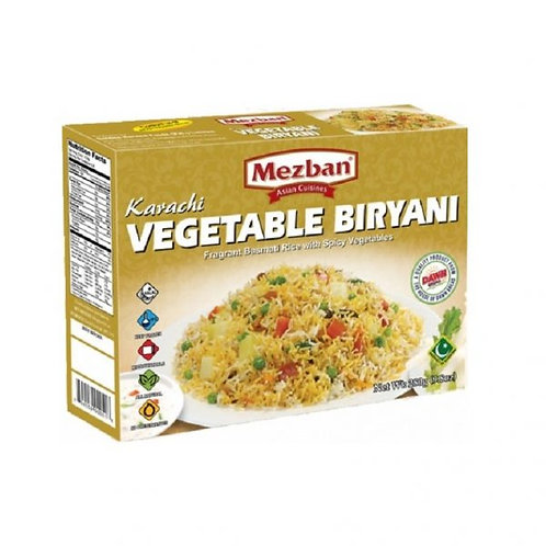 Karachi Vegetable Biryani