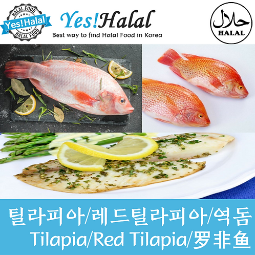 Red Tilapia (2 Fishes, 1Kg)