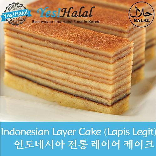 Lapis Legit/Indonesian Thousand Layers Cake (Indonesia, 300g)