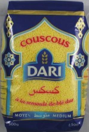 Couscous moyen- 1Kg