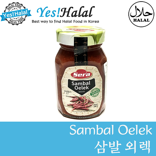 Sambal Oelek (Turkey, Sera, 340g)